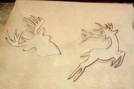 Reindeer pin-2